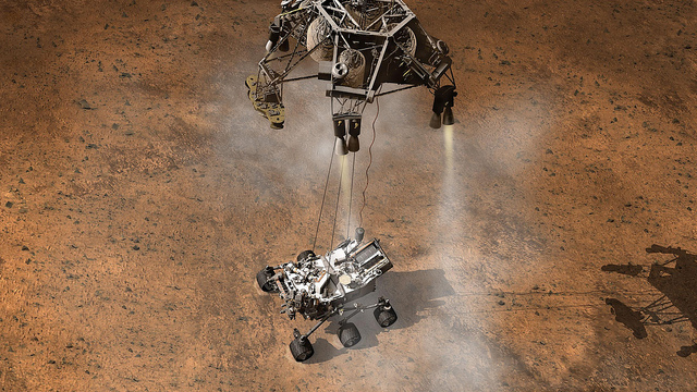 Mars spacecraft first to investigate upper atmosphere of the red planet