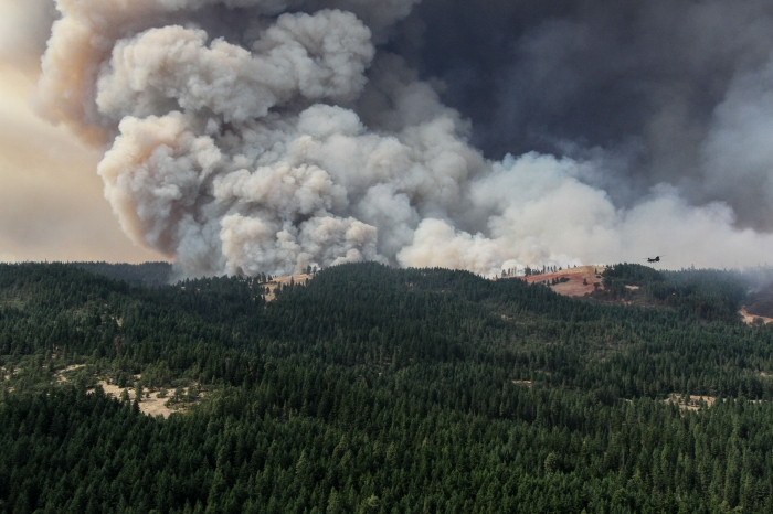 A rainy relief? Fires recede as wet weather returns to Oregon