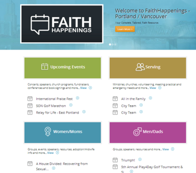 Faith Happenings