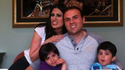 Pastor Saeed and his family