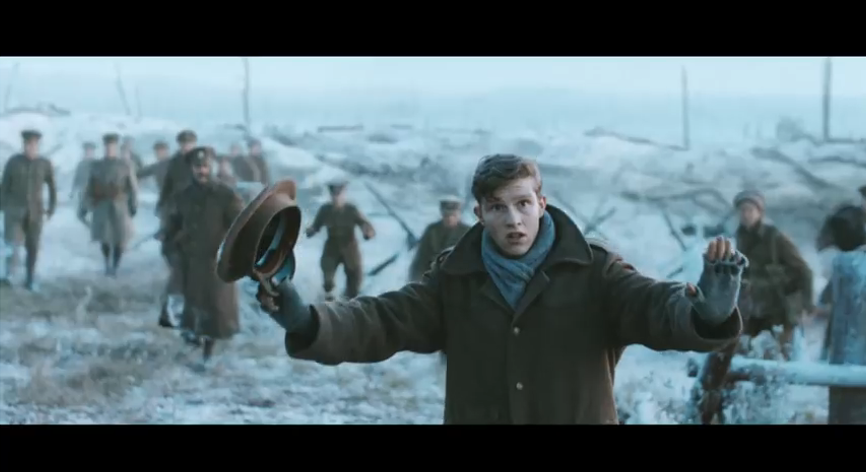 WWI inspired Christmas advertisement goes viral