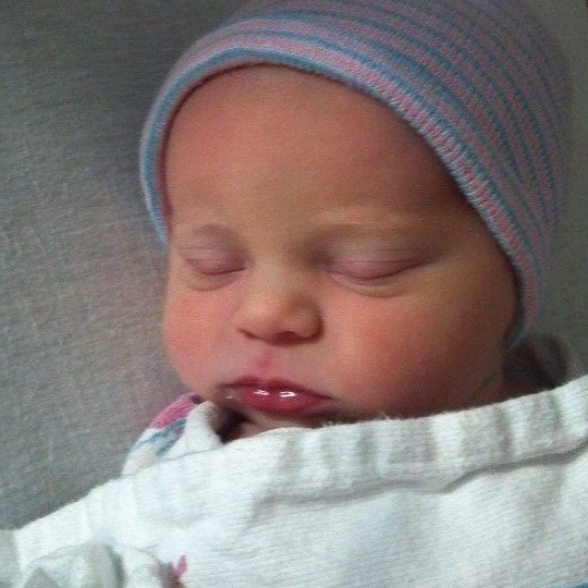 PDX's first baby of 2015 represents new life for grandfather who beat cancer