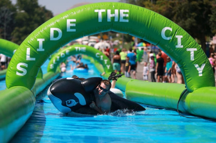 Slide the City coming to Portland this summer