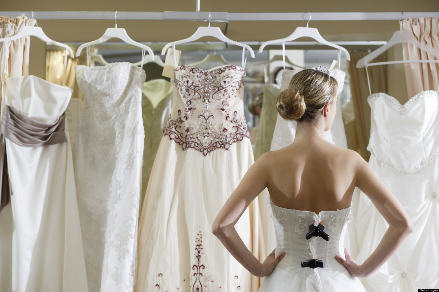 Brides give back, and save, with annual Oregon City Dress Dash