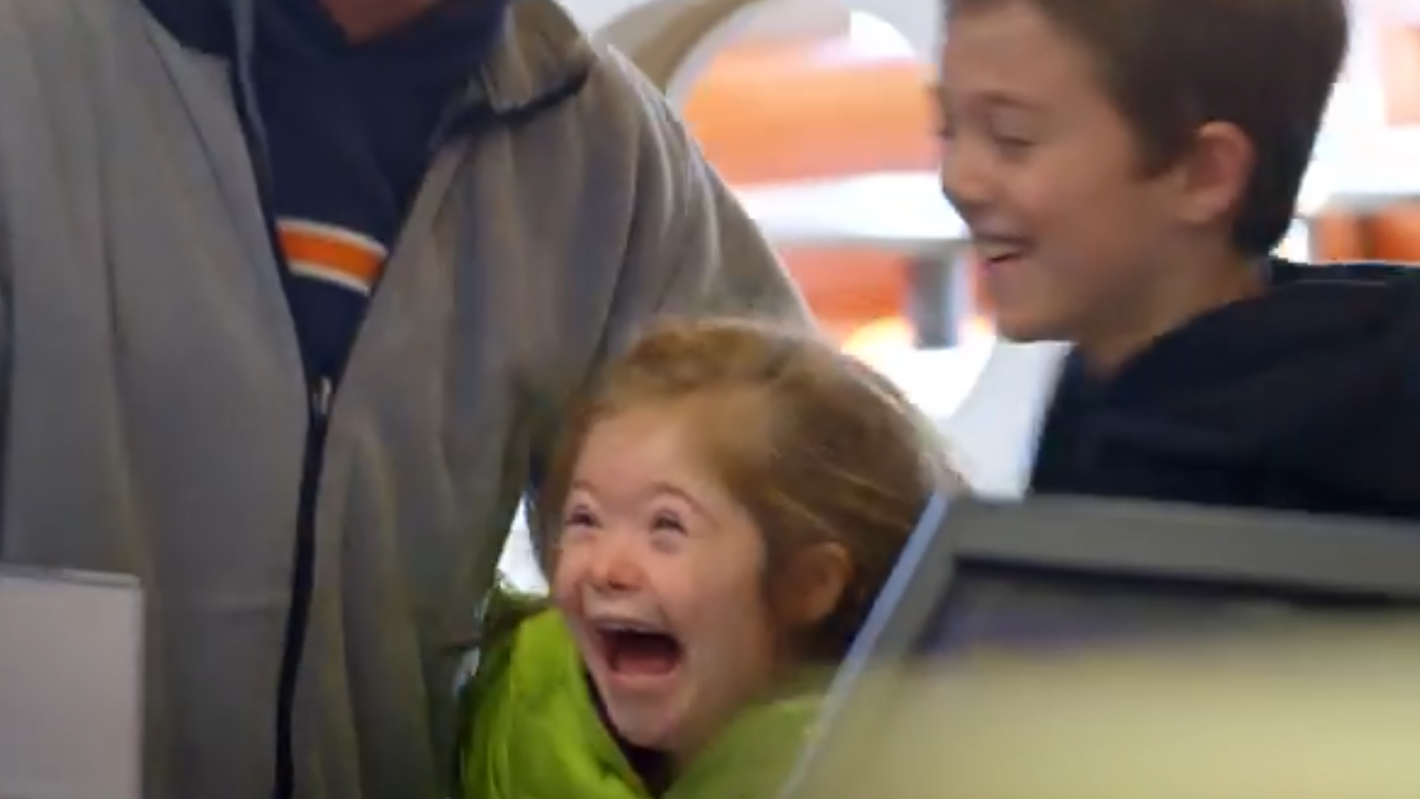 "McDonald's ""Pay with Lovin'"" Super Bowl ad features girl with Down syndrome"