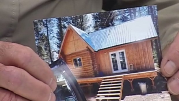 Someone stole an entire cabin off an Oregon man's property