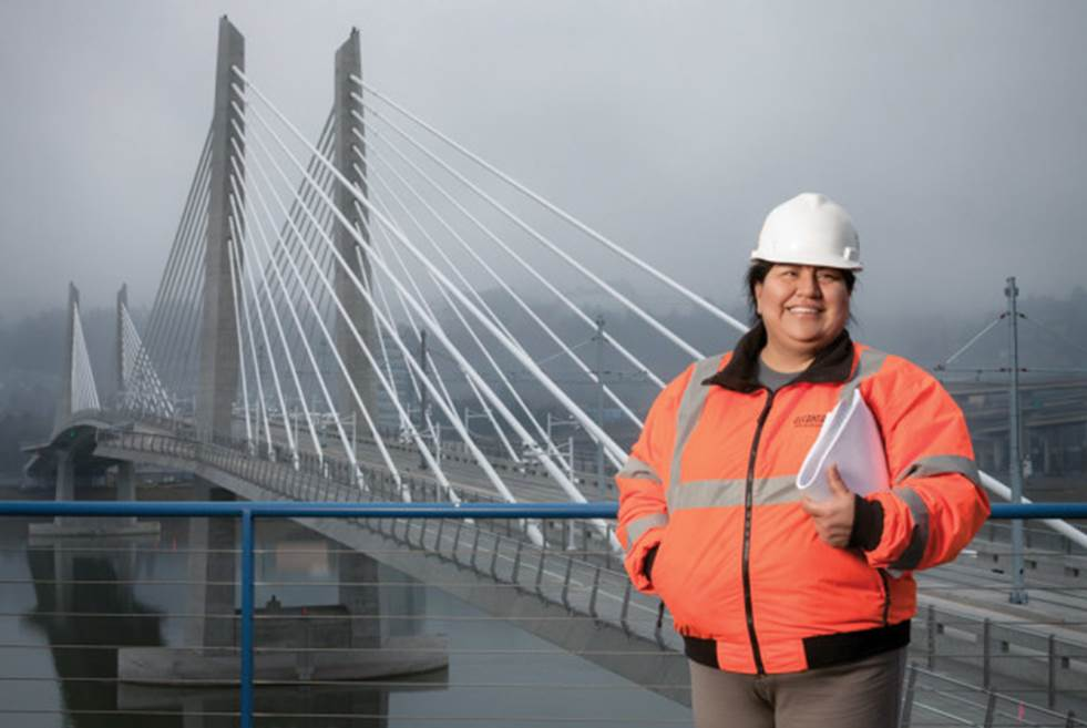 The innovative engineer of Portland's new bridge opens up on minorities in design, overcoming obstacles, and her dreams for the future
