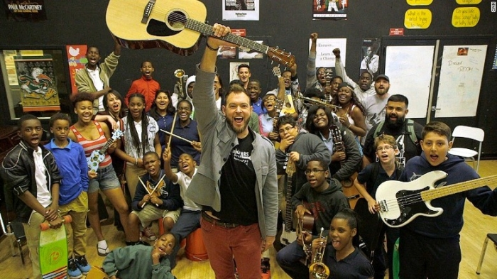 Guitars Over Guns helps students choose music over violence