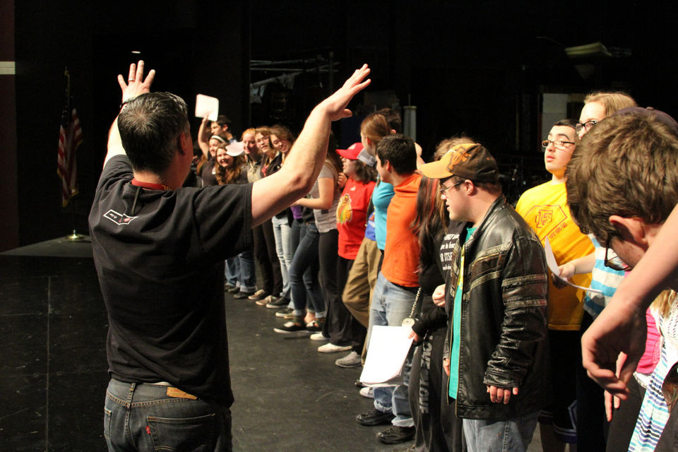 Project UNIFY's student-led play combats cyber bullying in schools