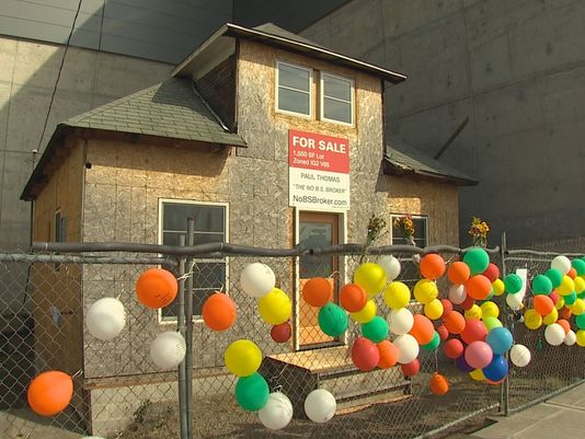 "Famous ""Up"" house on the market to honor persevering owner"