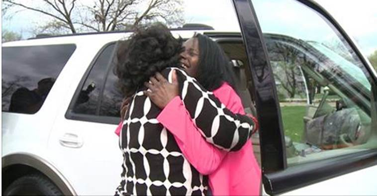 A triple generation reunion: Children reunite their mother and her birth mom