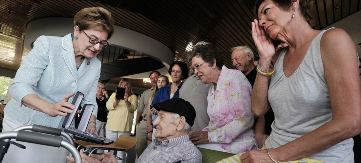 101-year-old WWII veteran receives 12 medals 7 decades after courageous act
