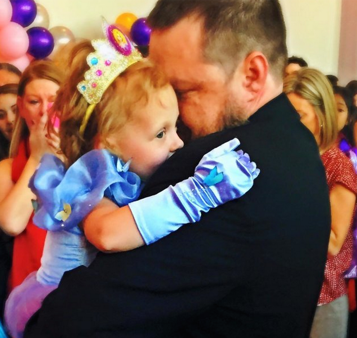 5-year-old with cancer has birthday party, prom, and wedding all in one