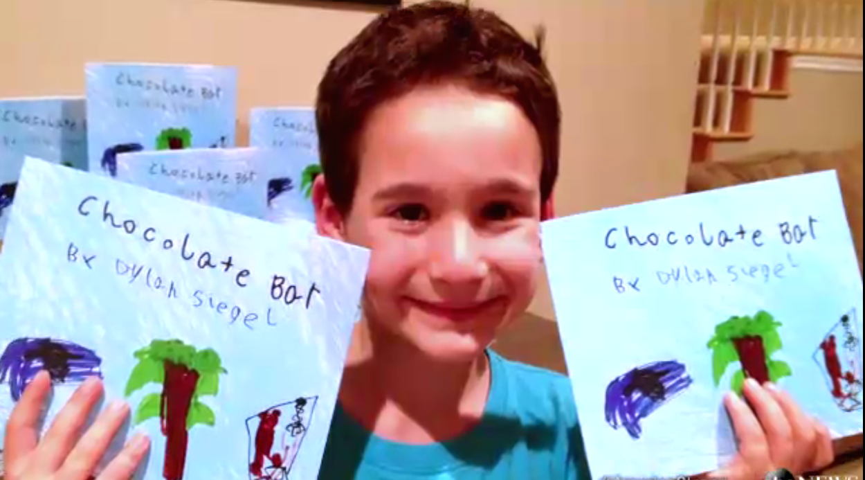 8-year-old writes book and raises $750,000 for sick friend