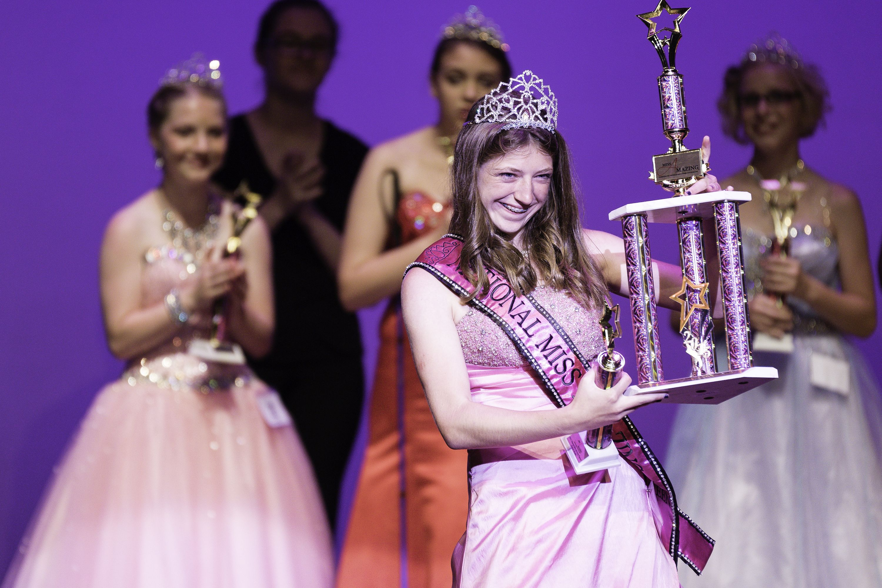 Women and girls shine at unique beauty pageant