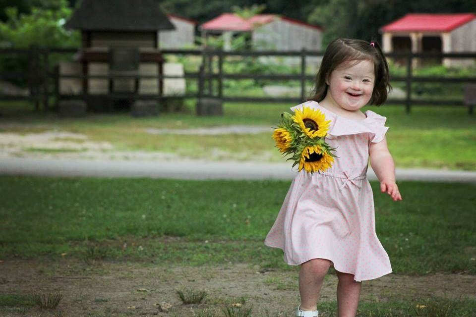 Photo series shows children with Down Syndrome enjoying life