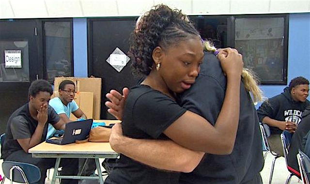 Teen meets doctor who saved her life