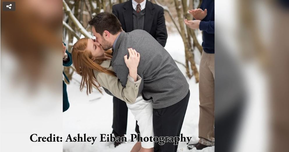 Virginia Couple gets married during snowstorm