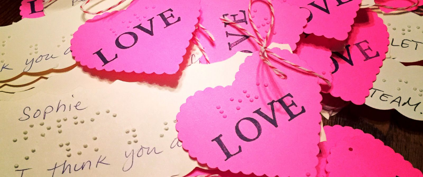 Seattle girl gives classmates sweet braille Valentines