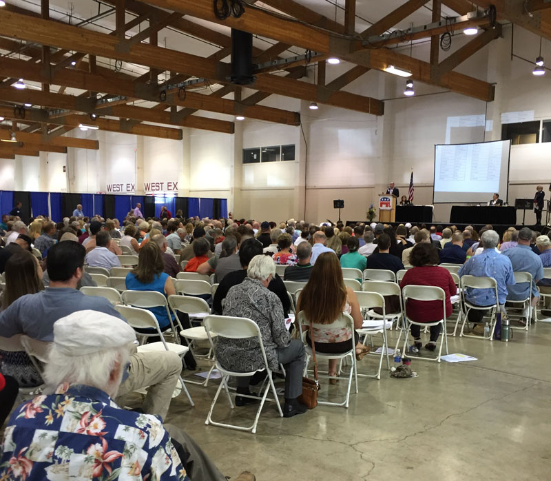 Oregon Republicans embrace their conservative grassroots at state GOP Convention