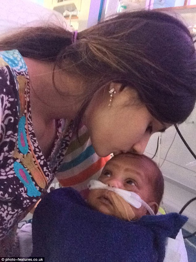 Baby survives after mother's water breaks at 16 weeks