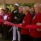 The ribbon cutting ceremony for Freedom's Path