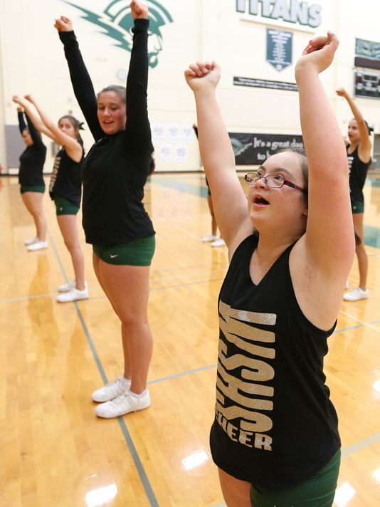 Student with Down Syndrome achieves dream of cheerleading