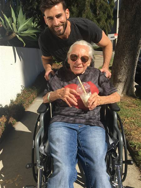 89-year-old woman moves in with young neighbor after falling ill