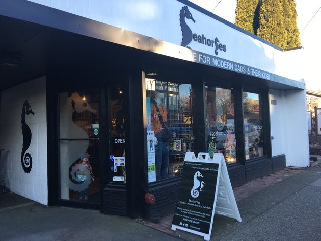 Portland store shows that dads are parents too
