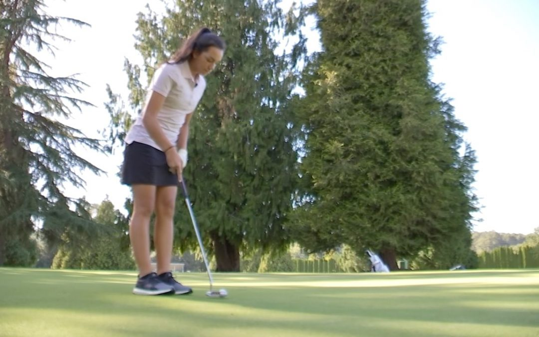 Skilled Young Golfer Gives Back to Community