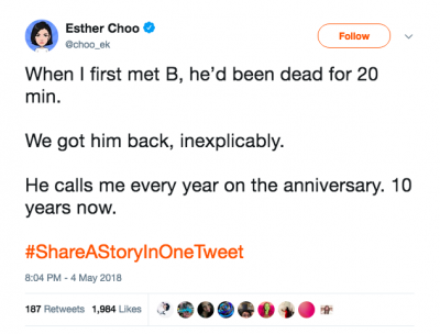 OHSU Esther Choo Tweet