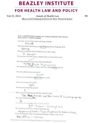 Annals of Health Law survey