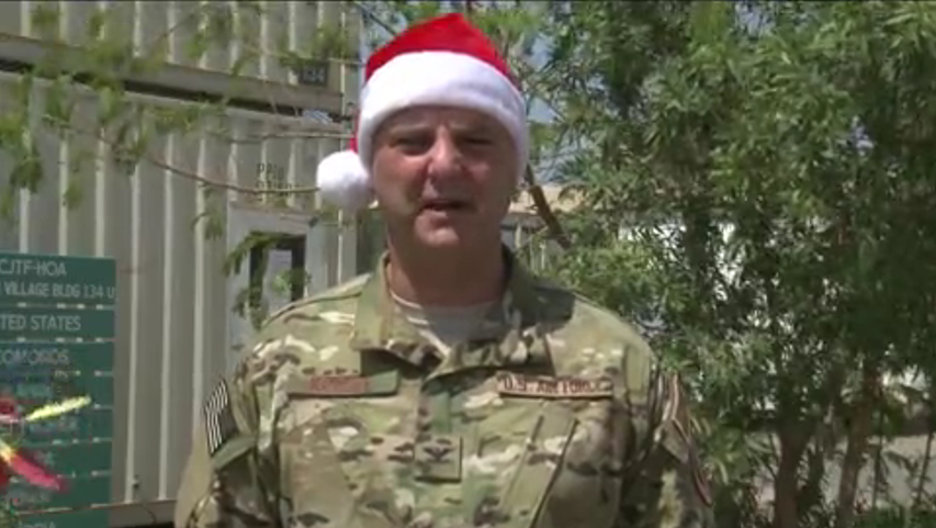 Happy Holidays from deployed Oregonians