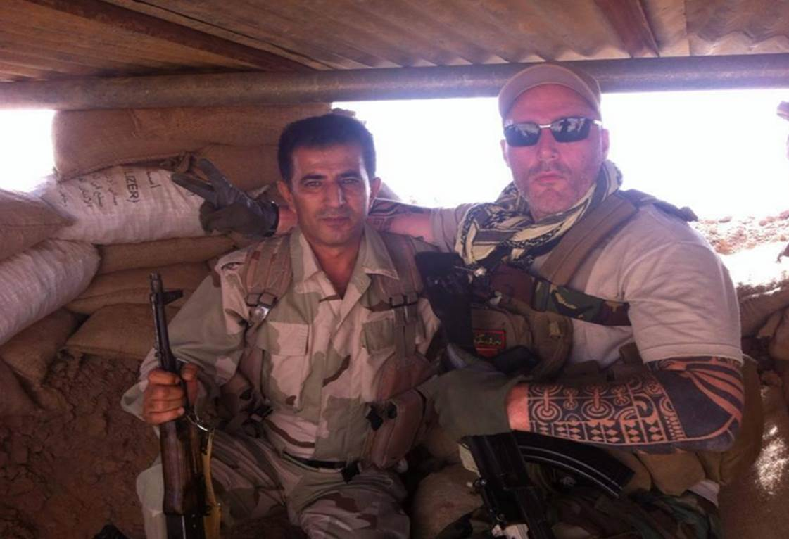 Biker gang joins Kurdish forces to fight ISIS