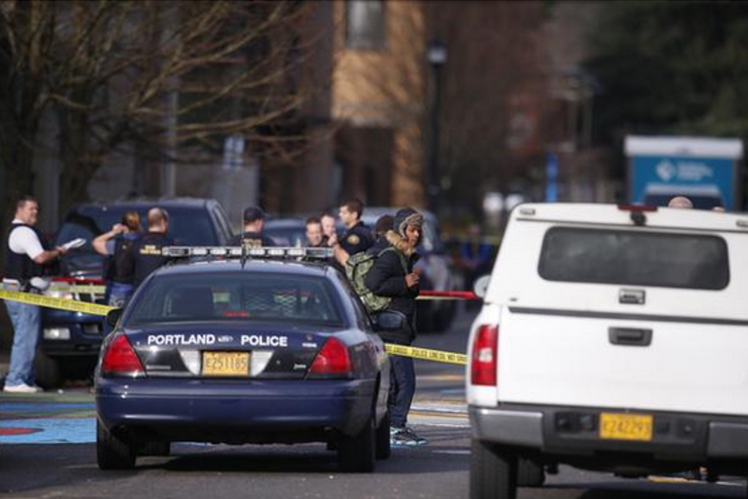 Portland Police respond to shooting at Rosemary Anderson High School