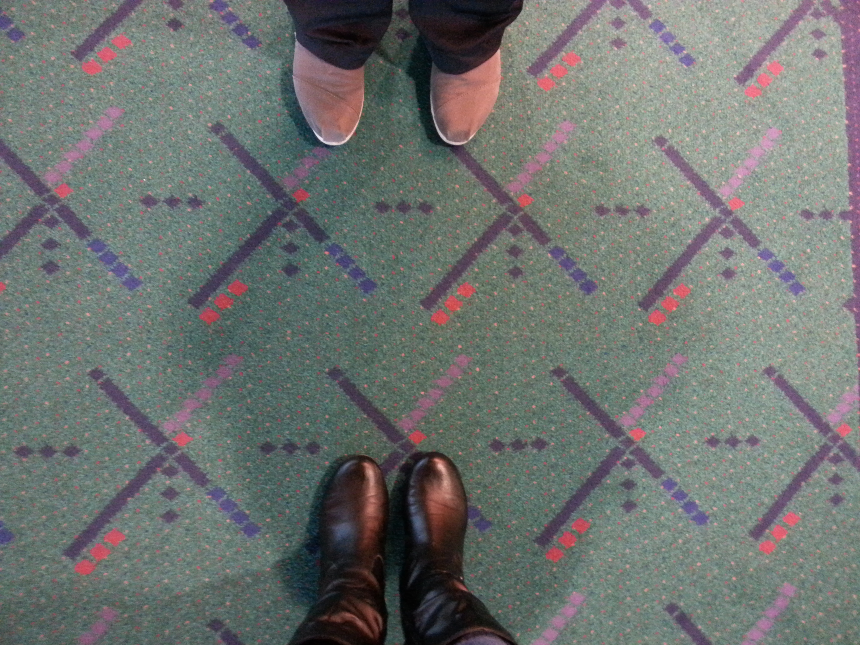 Time for final #pdxcarpet selfies