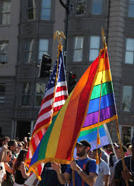 Pride Parade Flag