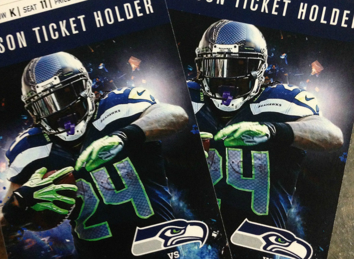 Seahawks fan gives tickets away to grieving boys