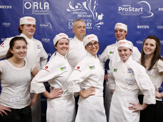 South Salem High School students win culinary championship