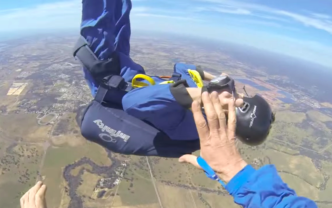 Instructor saves skydiver who has seizure while falling