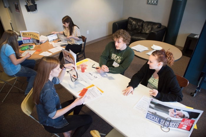 Simulation gives university students lesson on poverty: 'This is real'