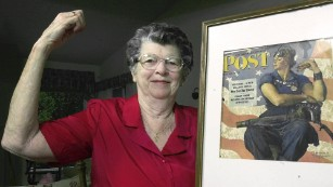 'Rosie the Riveter' model dies at 92
