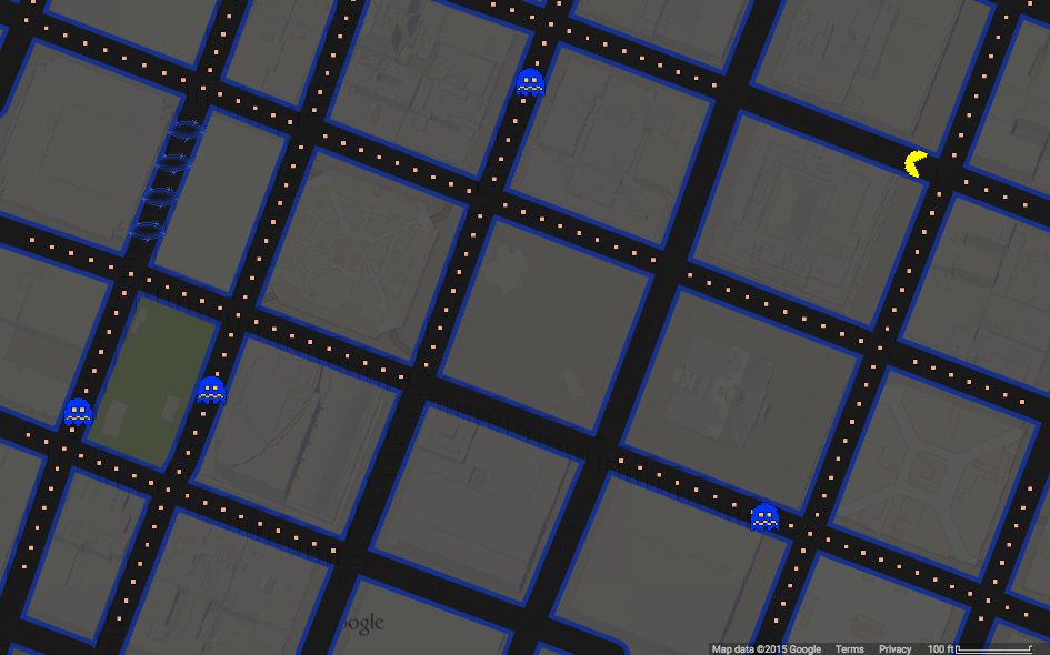 New Google feature lets you play Pac-Man using any city