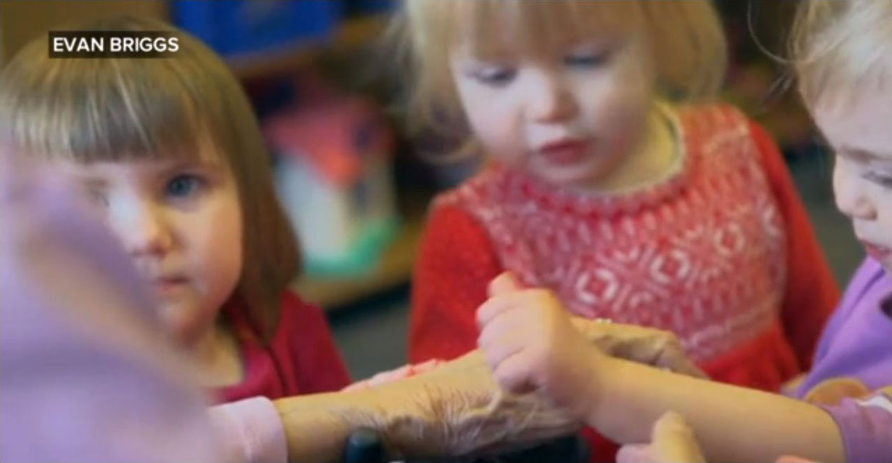 Seattle Preschool pairs the young and the elderly