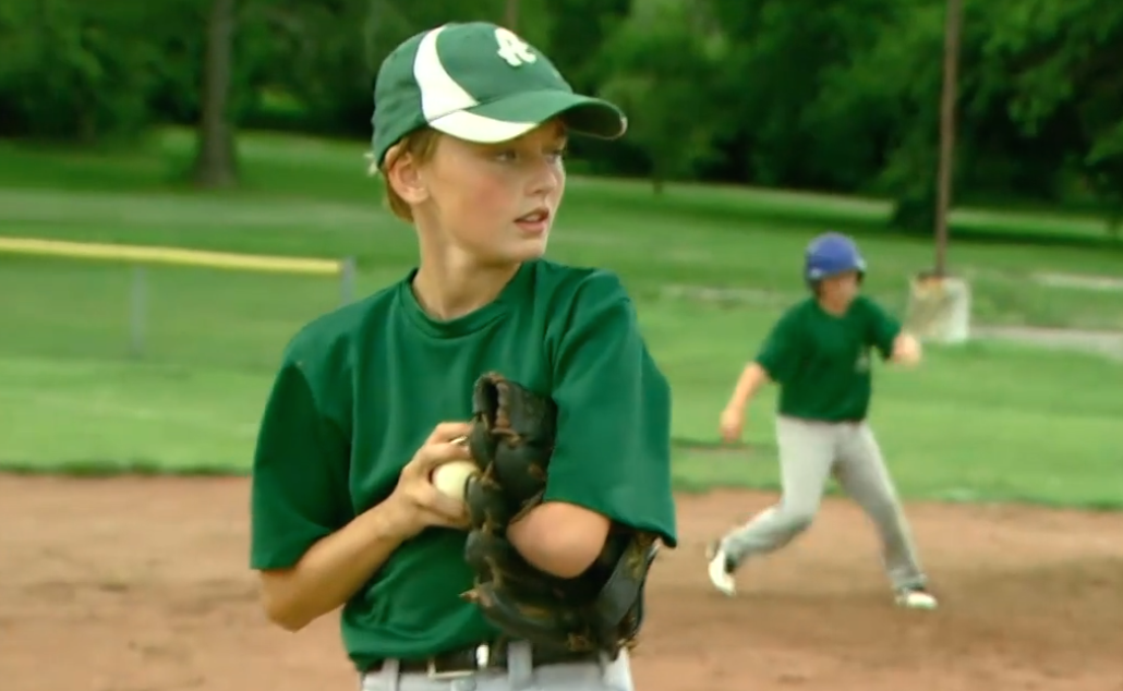 12-year-old with one arm dominates the field