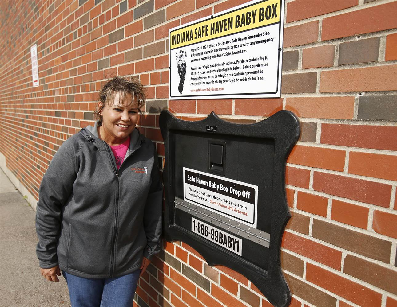 Indiana installs 'Safe Haven Baby Boxes'