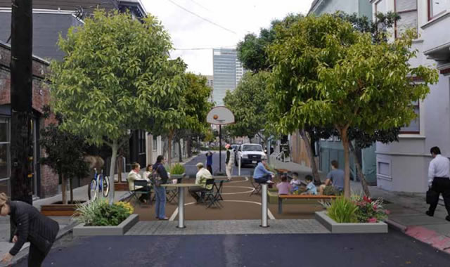 Neighbors to turn alley into park