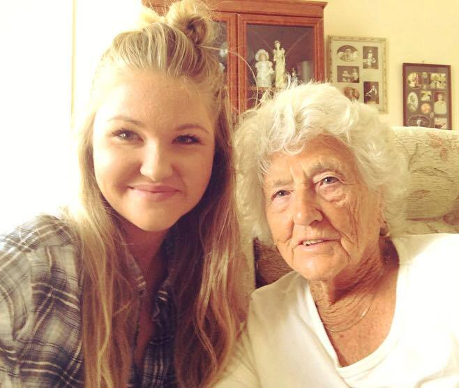 A conversation and a selfie help an elderly woman overcome loneliness