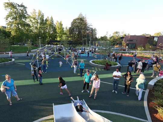 New therapy playground opens in Salem