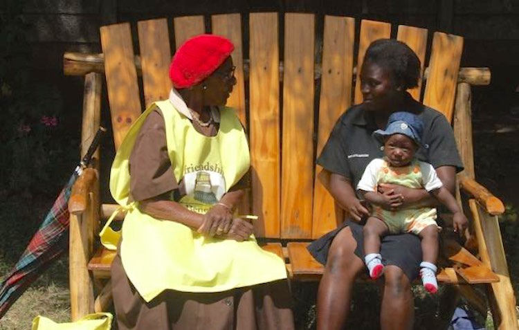 Zimbabwe's 'Friendship Benches' provide support for thousands with mental illnesses